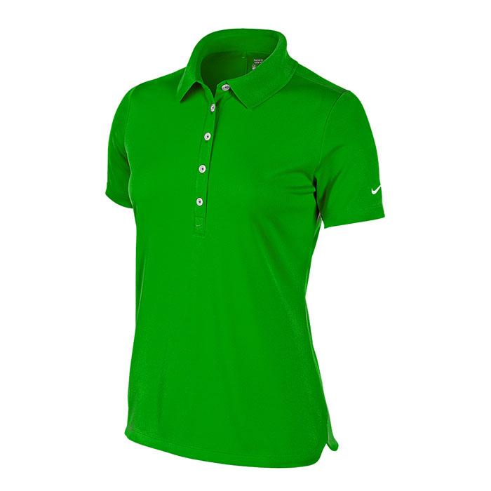 Nike Women s Polo Dri Fit UV Tech Green – Gear Up Pro Shop 3c032e54b