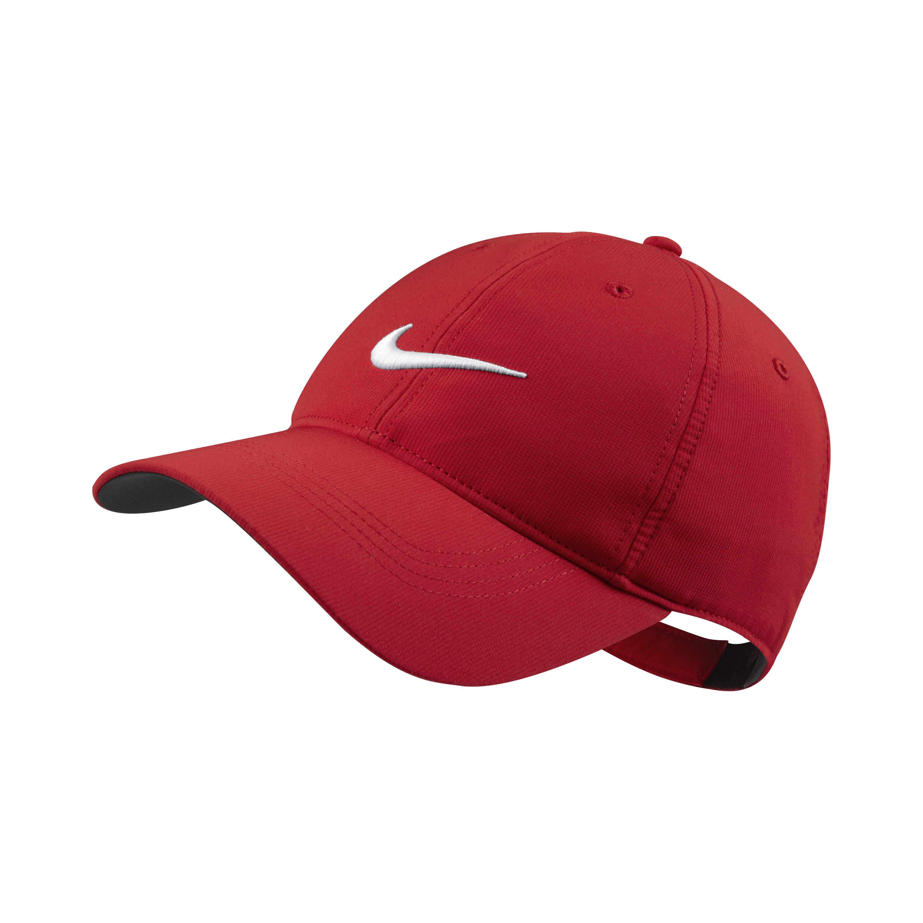 d1e660e79f7 Nike Adult Unisex Tech Swoosh Cap Red – Gear Up Pro Shop