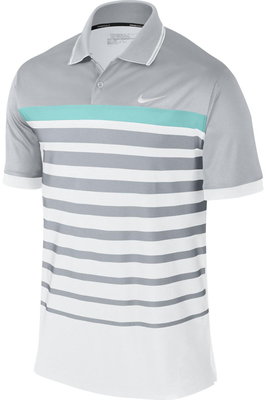 Nike Mens Polo Shirt Innovation Stripe